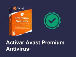 activar avast premium antivirus