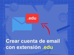 crear cuenta de correu edu gratis