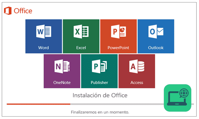 Instalación office 2016