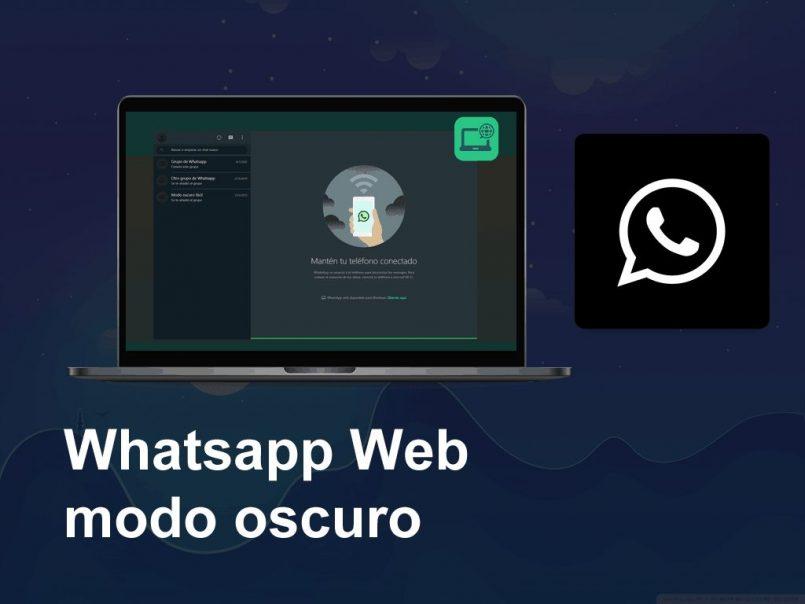 modo escuro Whatsapp web