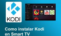 instalar kodi smart tv