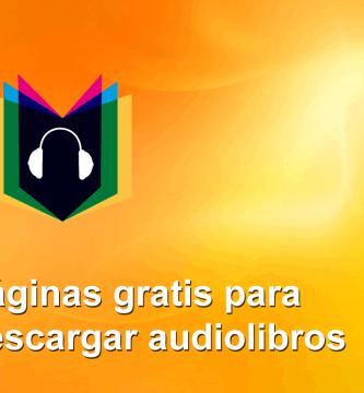 paginas descargar audiolibros gratis