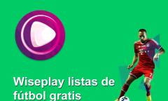 wiseplay listas futbol actualizadas