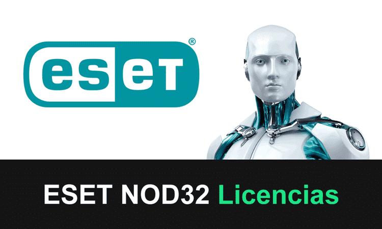 eset nod32 licencias gratis