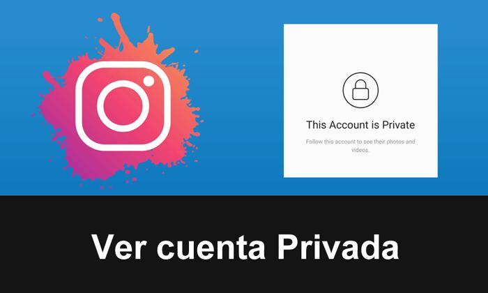 ver cuenta privada instagram