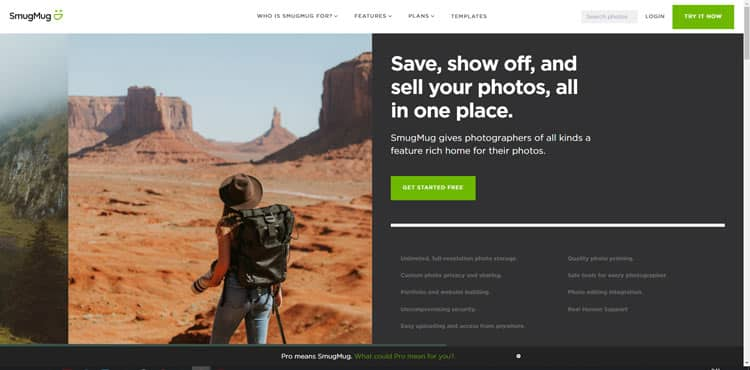 sito web per vendere foto