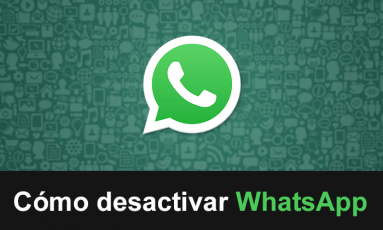 como desactivar whatsapp