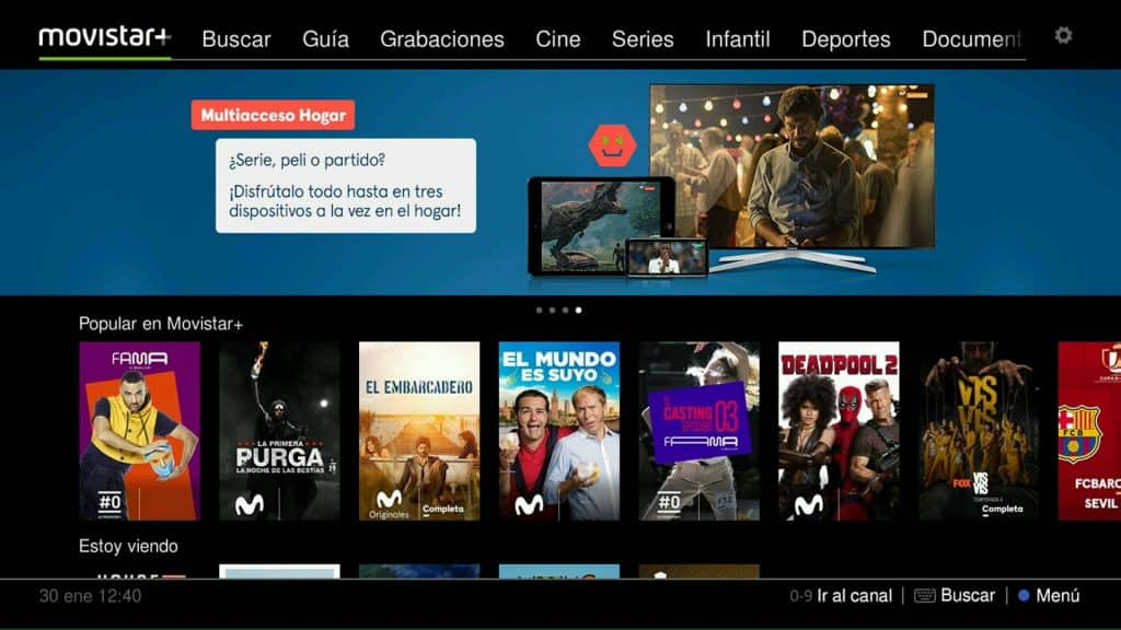 movistar plus ver canal gratis