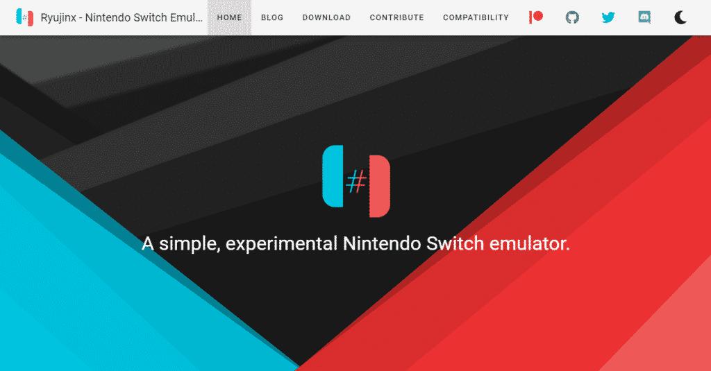 emulatori ryujinx nintendo switch