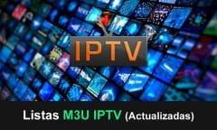 listas m3u iptv actualizadas
