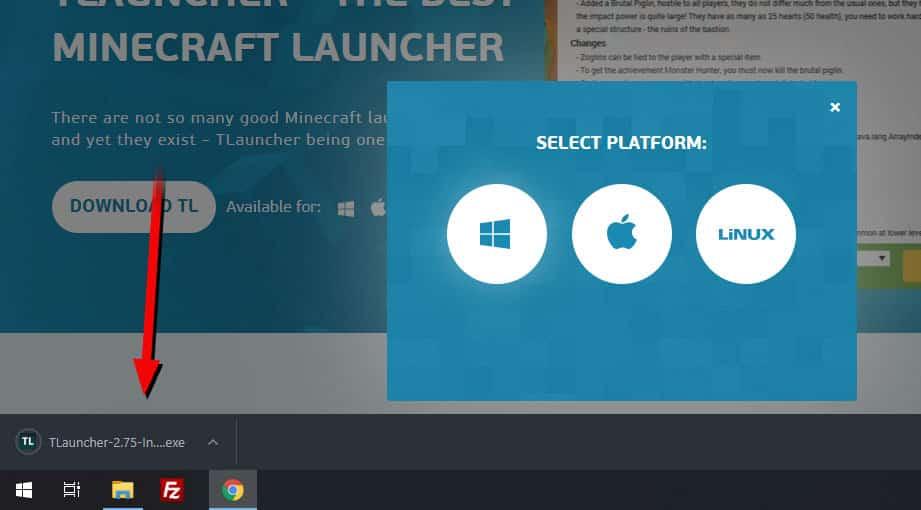 descargar tlauncher minecraft windows y mac