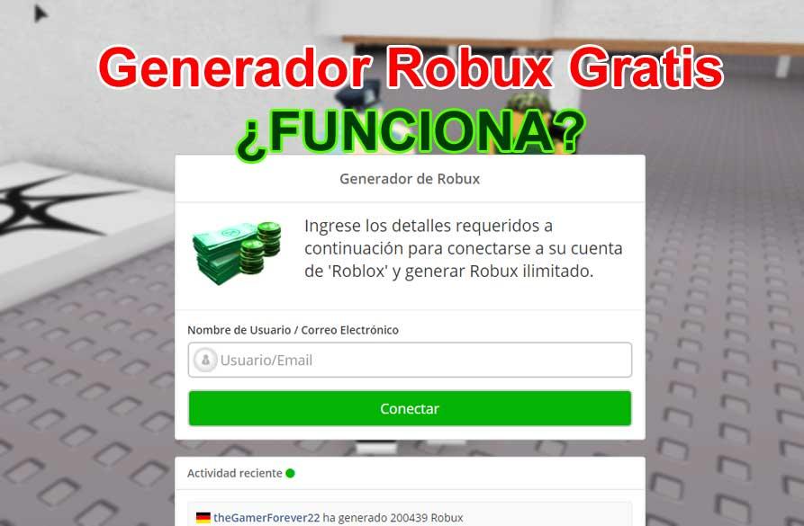 generador de robux gratis roblox
