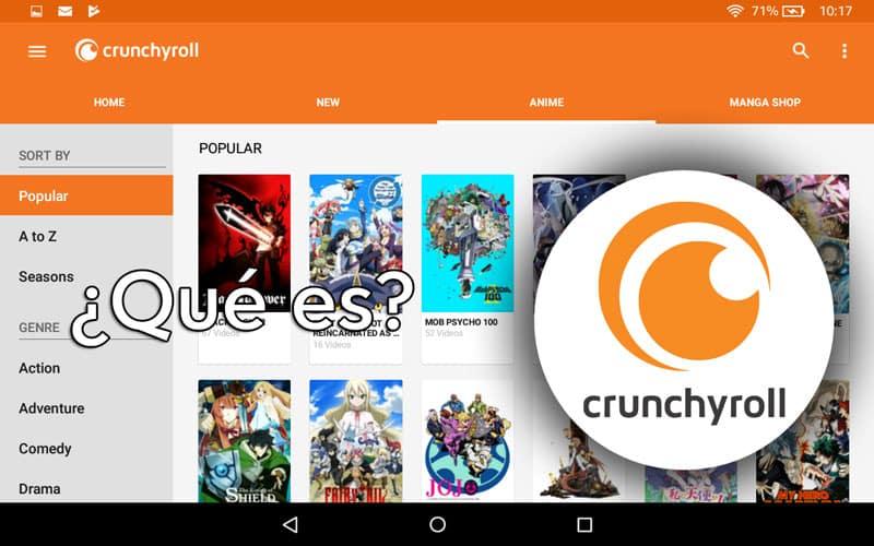 que es crunchyroll?