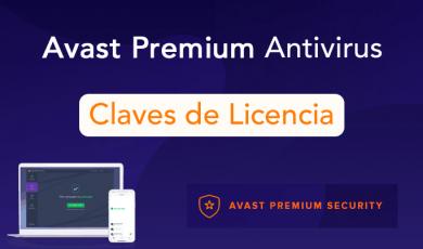 avast premium claves licencia
