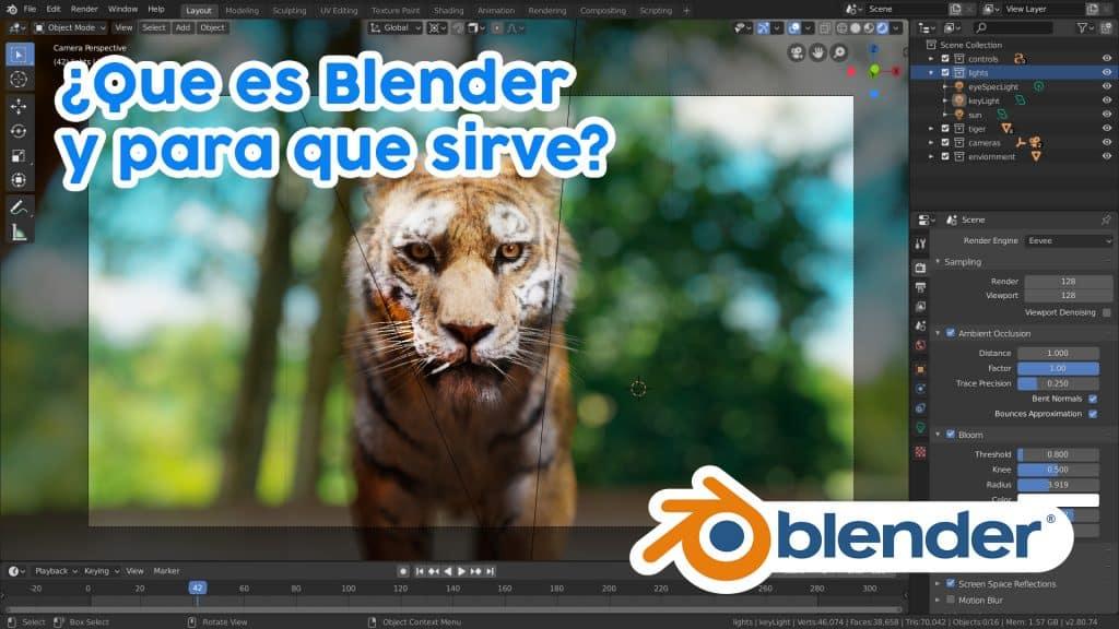 Descargar Blender ultima versión