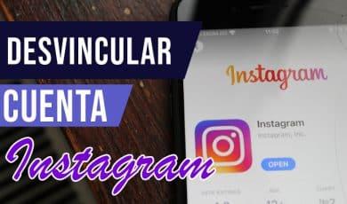 Como desvincular dos cuentas en Instagram
