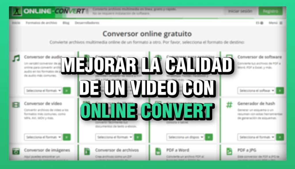 migliora la qualità di un video con la conversione online