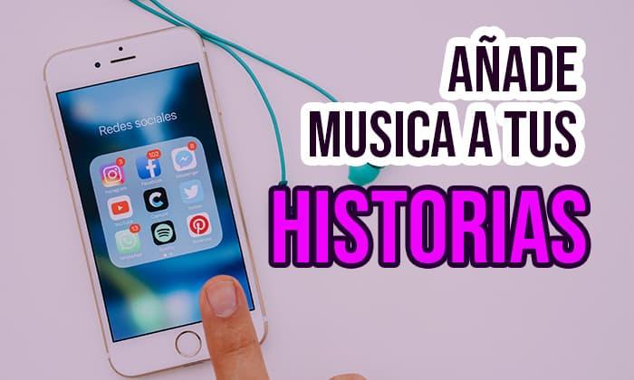 Como añadir música  a Instagram