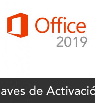 office 2019 claves de activacion