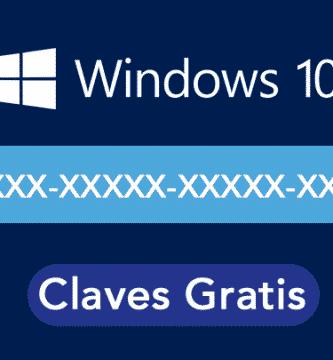 claves de producto gratis windows 10