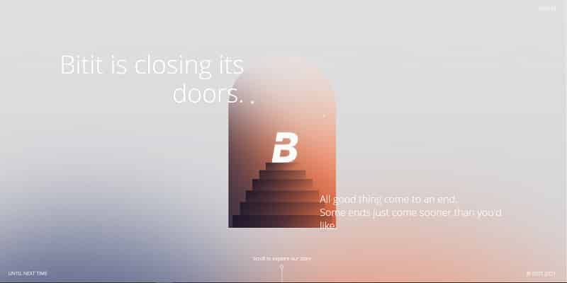 Bitit páginas como Coinbase