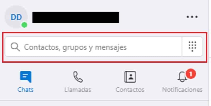 agregar un contacto en Skype