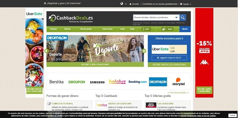 CashbackDeals tarjetas amazon