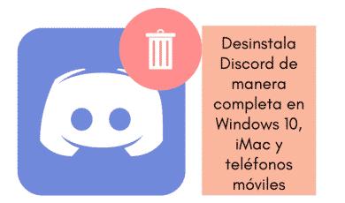 desinstalar Discord