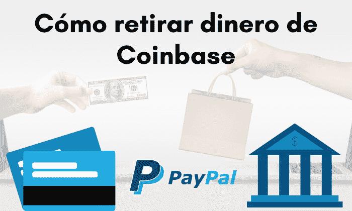 retirar dinero de Coinbase