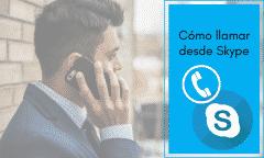 llamar a teléfonos en Skype