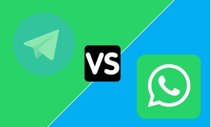 Diferencias grupos Telegram WhatsApp