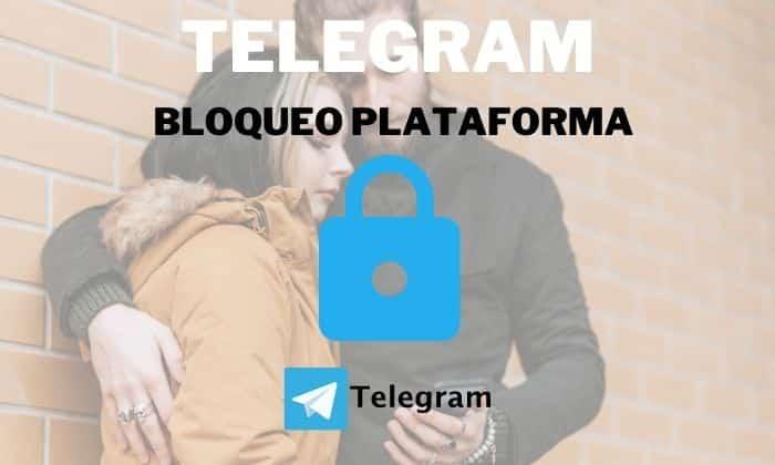 bloqueo usuario telegram