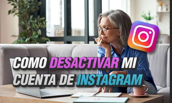 como desactivar mi cuenta de instagram