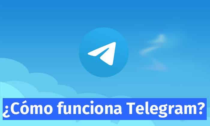como funciona telegram