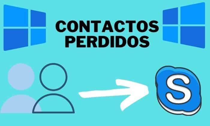 contactos perdidos skype