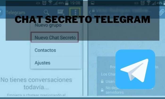 crear chat secreto telegram