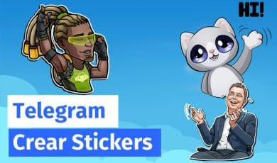 crear stickers telegram