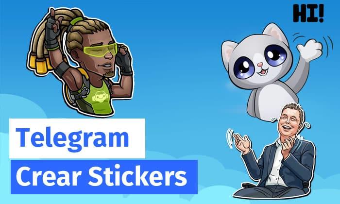 crear stickers telegram