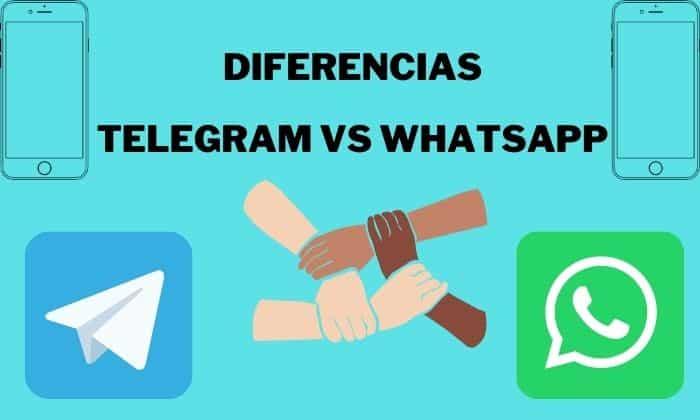 diferencias telegram whatsapp