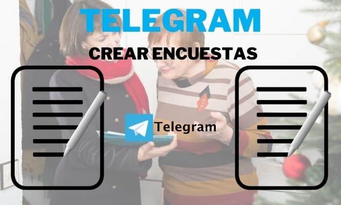 diseñar encuestas telegram