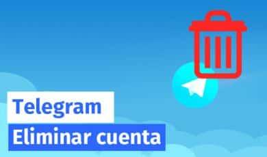 eliminar cuenta telegram