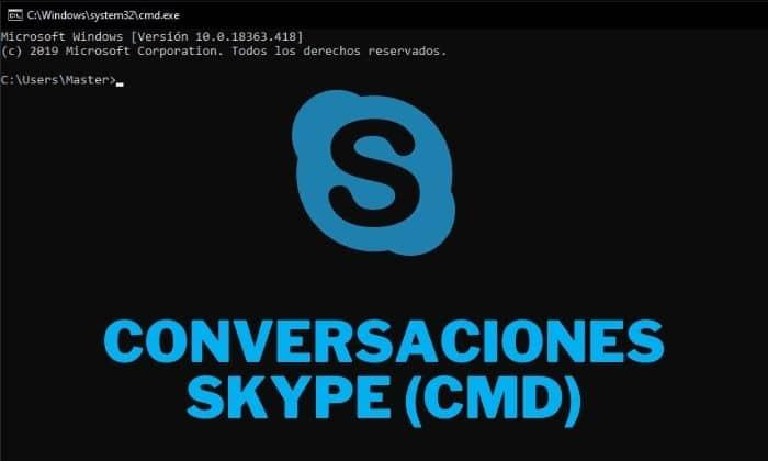guardar conversaciones skype