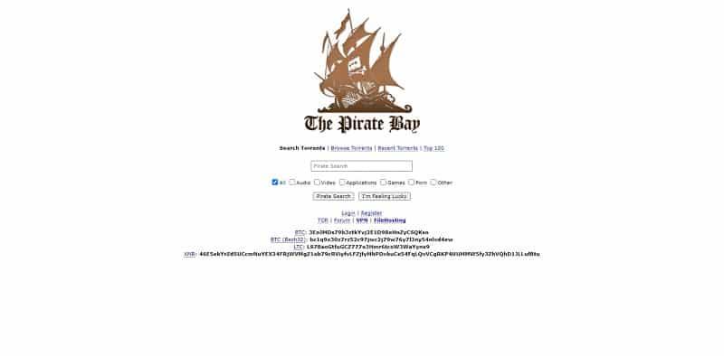 The Pirate Bay Bajui