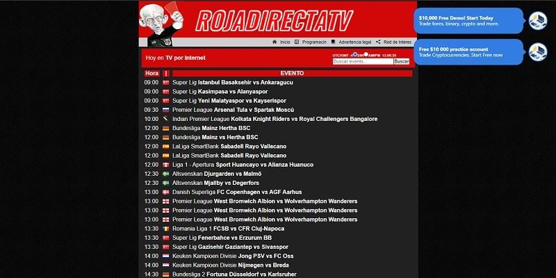 RojaDirecta TV Ver UFC Online