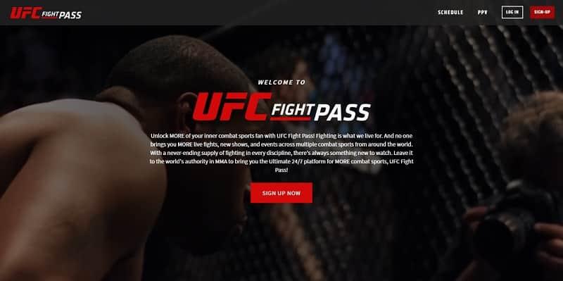 UFC Fight Pass Ver UFC Online