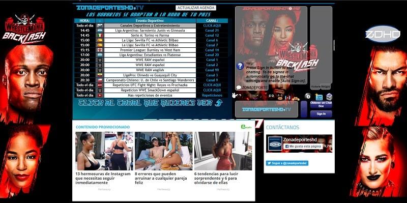 Zona Deporte HD Ver UFC Online