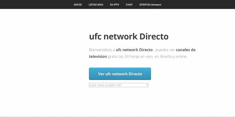 Acho TV Ver UFC Online