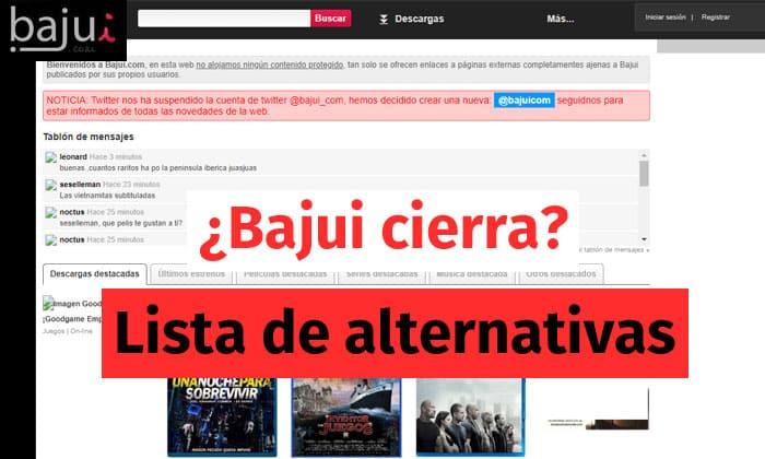 bajui alternativas