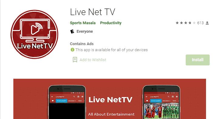 live netv
