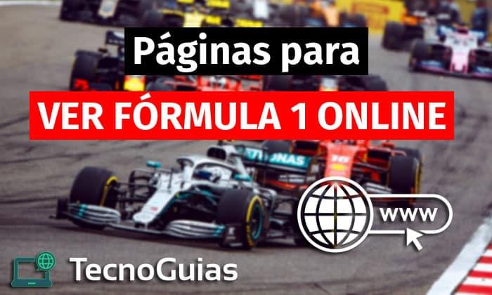paginas ver formula 1 online